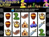 Aladdin's Lamp spielautomat